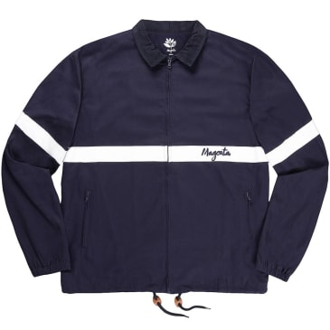 Magenta Skateboards - 96 Lined Coach Jacket Navy/White
