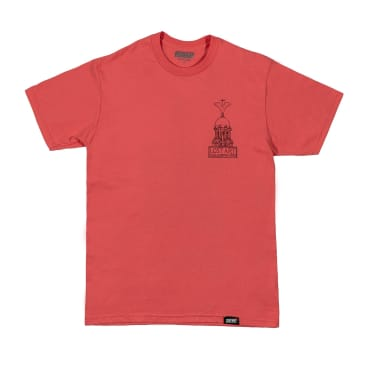 Lost Art - Liver Tee Coral Silk