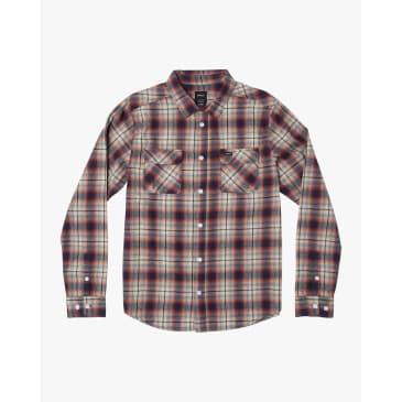 RVCA Hostile Plaid Button-Up Flannel