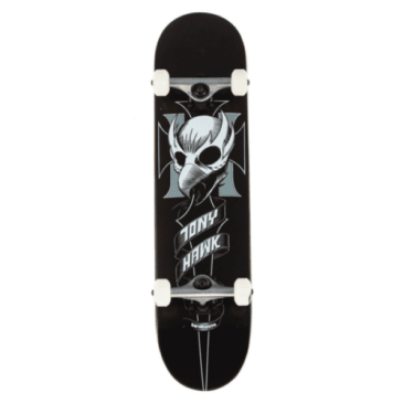 "Birdhouse Skateboards - 8.0"" Crest Complete Skateboard (Black)"