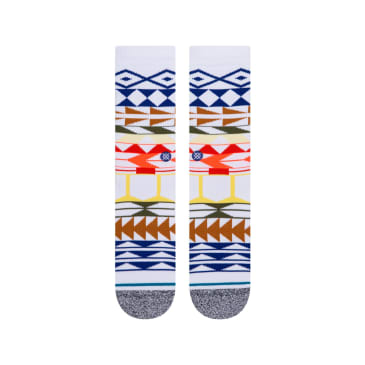 Stance Warrior Print Socks