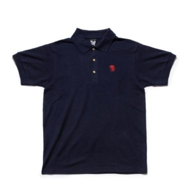 Quiet Life Shhh Polo Shirt - Navy