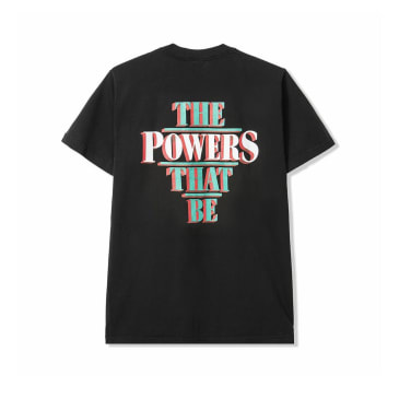 Powers The Powers That Be T-Shirt - Black