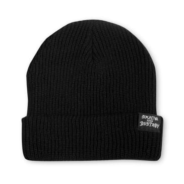THRASHER SAD BEANIE BLACK