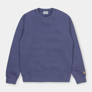 Carhartt WIP - Chase Sweat - Cold Viola/Gold
