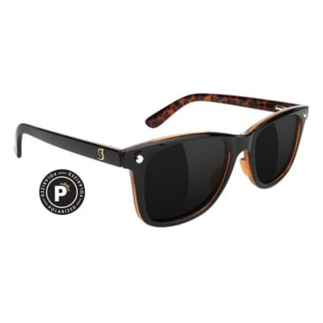 Glassy - Mikemo Polarized Sunglasses - Black/Tortoise