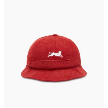 by Parra - jumping fox bell bucket hat
