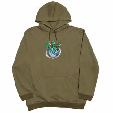 Cometomychurch Dinner Hoodie - Green