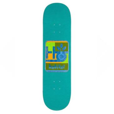 "Habitat Skateboards - Mod Pod Deck Green - 8.25"""