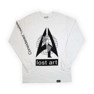 Lost Art - Elephant In The Room L/S Tee White