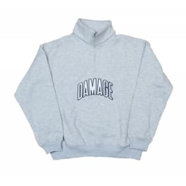 Damage Quarter Zip (Grey)