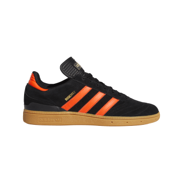 Adidas Busenitz Pro Skateboarding Shoes - Core Black/Solar Red/Gum