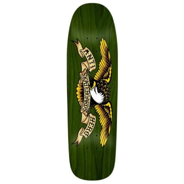 "Anti Hero ""Shaped Eagle Green Giant"" Skateboard Deck 9.56"""