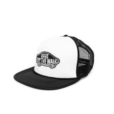 Vans Classic Patch Trucker Cap - White/Black