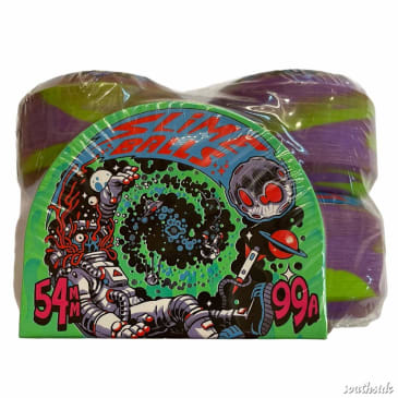 Slime Balls Astros Speed Balls Purple Green 54mm99A Swirl