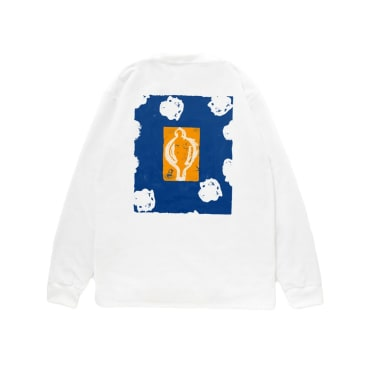 Reception - Bruno Long Sleeve T-Shirt - White