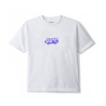 June - HUBBA Youth Tee - Grey, Blue