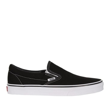 Vans Slip-On Pro Skate Shoes - Black / White