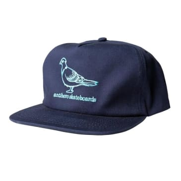 Anti Hero Lil Pigeon Navy Snapback Cap