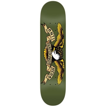 Anti Hero Skateboards Classic Eagle Skateboard Deck Green - 8.38