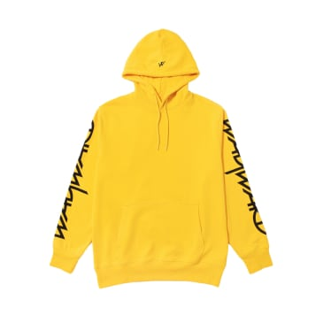 Wayward Skateboards - KILLA BEE HOODED SWEATSHIRT YELLOW