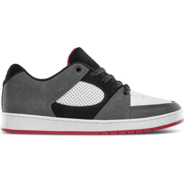 eS Accel Slim Skate Shoe - Grey / White / Red