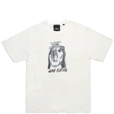 Come To My Church Jesus Ripping T-Shirt - White