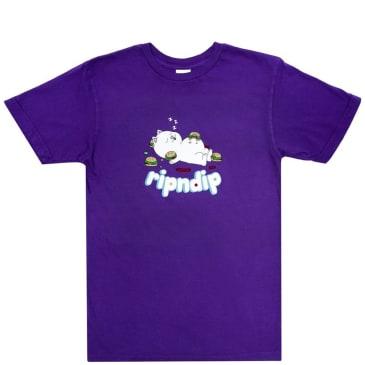 Ripndip Fat Hungry Baby T-Shirt - Purple