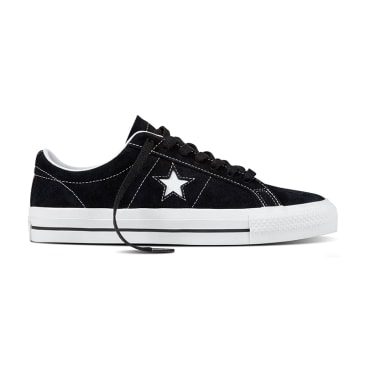 Converse - One Star Pro Ox - Black / White