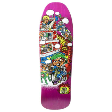"""New Deal Skateboards - Andy Howell Tricycle Kid Deck 9.625"""" Wide"""