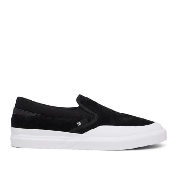 DC Infinite Slip-On S Skate Shoes - Black / White