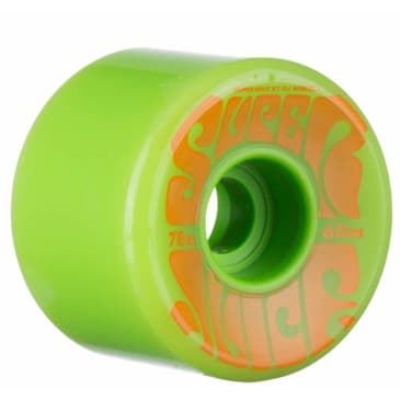 OJ Super Juice Green Wheels 60mm