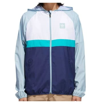 Adidas BB Wind Jacket White - Teal - Navy