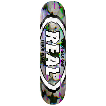 "Real Ishod Glitch Oval Deck 8.5"" Full SE"