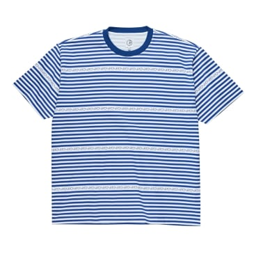 Polar Stripe Logo Tee - Dark Blue