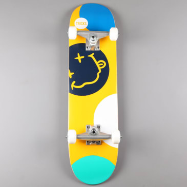 "Tricks 'Crazy' 7.25"" Mini Complete Skateboard"