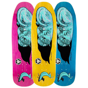 "Welcome Skateboards - Chris Miller Sleeping Cat on Gaia Deck 9.6"" Wide"