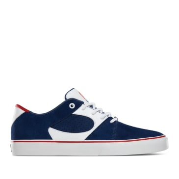 éS Square Three Skate Shoes - Navy / White / Red