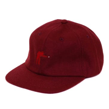 Pass~Port Pool Wool Cap - Burgundy