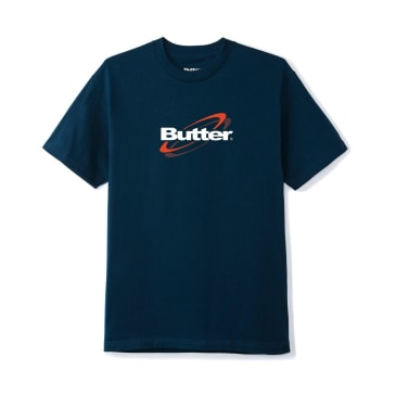 Butter Goods Technology Logo T-Shirt - Navy