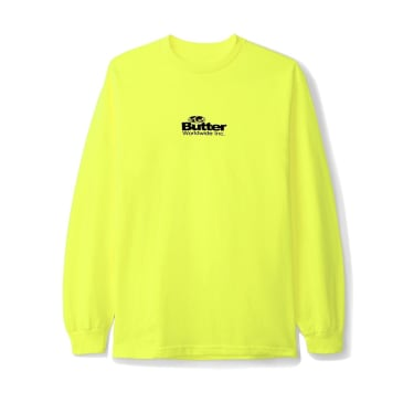 Butter Goods Incorporated Long Sleeve Tee, Safety Green