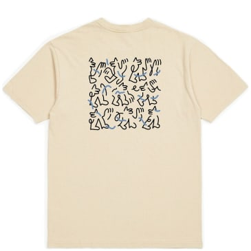 Brixton Motion T-Shirt - Sand