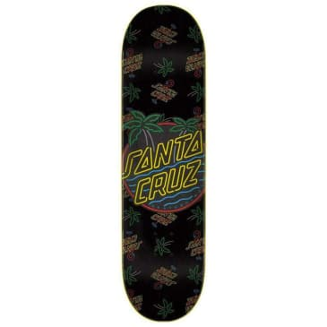 Santa Cruz Skateboards Glow Dot Skateboard Deck - 7.75
