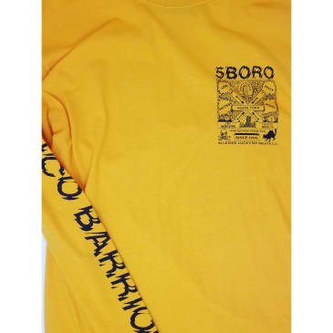 5BORO LUCKY L/S TEE - YELLOW
