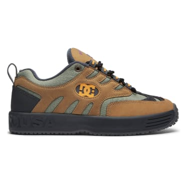 DC Shoes x Bronze 56K Lukoda Skate Shoe - Brown / Green