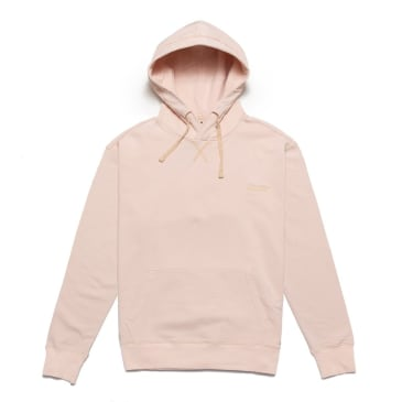 Chrystie NYC Garment Dye Classic Logo Pullover Hoodie - Pale Pink
