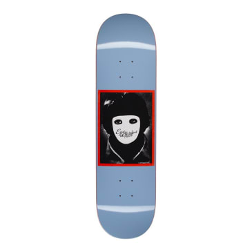 Hockey No Face Blue Skateboard Deck - 8.38""