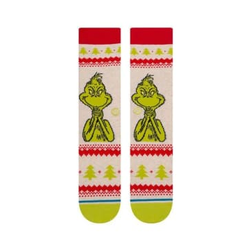 Stance Grinch Sweater Sock