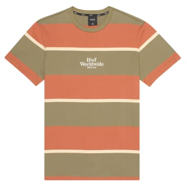 Huf Mazon Stripe Knit T-Shirt