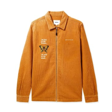 Butter Goods Butterfly Long Sleeve Workshirt - Camel